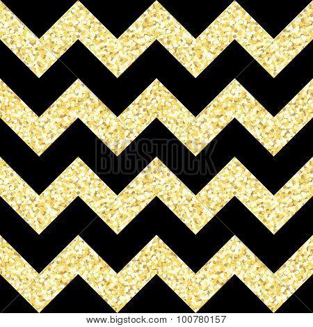 black and silver glitter stripe wallpaper