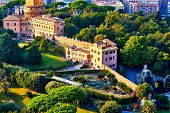 Постер, плакат: Monastery Mater Ecclesiae Mother Of The Church Inside Vatican City Surrounded By Vatican Gardens V