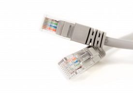 image of cat5  - LAN cable  - JPG