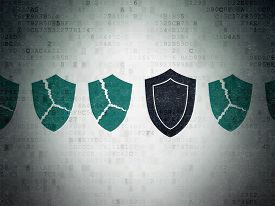 pic of shield  - Security concept - JPG