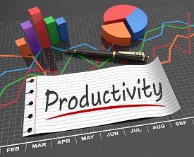 stock photo of productivity  - Productivity and development as a concept theme - JPG