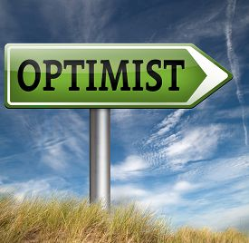 picture of think positive  - optimism think positive be an optimist by having a positivity attitude that leads to a happy optimistic life and mental health  - JPG