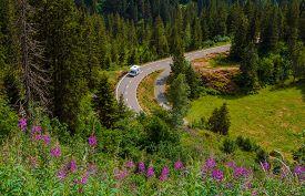 pic of camper  - Camper Van Summer Travel - JPG