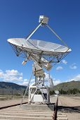 image of penticton  - A portion of the array at the Dominion Radio Astrophysical Observatory Radio Telescope in the Okanagan - JPG