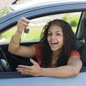 Teen Driver With Keys