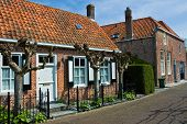 foto of veer  - An old dutch house in Veere The Netherlands - JPG