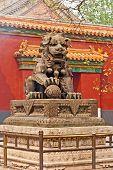 Постер, плакат: Китайский guardian Лев