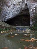 foto of he is risen  - Famous cave in the Serbia - JPG
