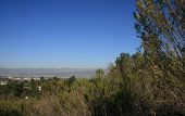 stock photo of san fernando valley  - View of the San Fernando Valley - JPG
