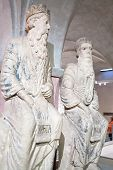 prophet Nathan and King David in Museum Diocesiano