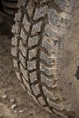 All Terrain Tire. Off-road Vehicle