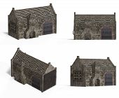 Medieval Houses - Smithy poster