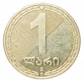 one Georgian Lari coin