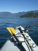 stock photo of sounding-rod  - Weekend kayaking in Howe Sound - JPG