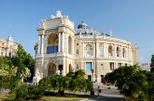 Beautiful Opera And Ballet House In Odessa, Ukraine,famous Landmark