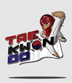 picture of taekwondo  - Create cartoon taekwondo martial art - JPG