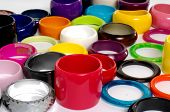 image of bangles  - Pile of Fashion colorful bangles  - JPG