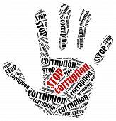 pic of corruption  - Stop corruption - JPG