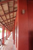 foto of stockade  - the beautiful Boardwalk Balcony   - JPG
