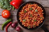 foto of tripe  - Chickpeas with chorizo  - JPG