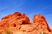 stock photo of valley fire  - Valley of fire State park in Nevada - JPG