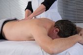 picture of execution  - A Technical execution of a Thai massage  - JPG