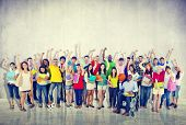 image of diversity  - Community Diversity Group Cheerful Happiness Team Concept - JPG