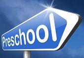 stock photo of nursery school child  - preschool education kindergarten nursery school or playgroup  - JPG