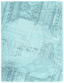 foto of architecture  - Blueprint  - JPG