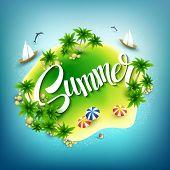 picture of tropical island  - Headline Summer - JPG