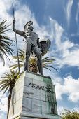 picture of sissi  - Statue of Achilles - JPG