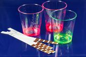 image of chemical reaction  - Test strip for chemical or medical analyses - JPG