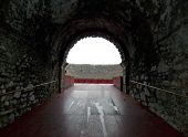 picture of arena  - Ancient tunnel to the Arena di Verona in Italy - JPG