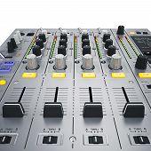 picture of mixer  - Didital dj mixer - JPG