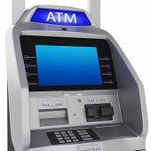 image of automatic teller machine  - Bank terminal - JPG