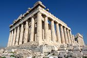 pic of akropolis  - the parthenon in the akropolis athens - JPG