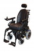 pic of wheelchair  - A Large Modern Electric Motorised Disability Wheelchair - JPG