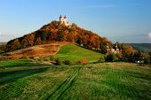 stock photo of banska  - Summer Calvary in Banska Stiavnica Slovakia Unesco - JPG