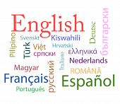 foto of grammar  - nineteen different Languages in a simple photo - JPG