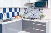 Electric Stove. Frying Pan Is Placed On A Modern Electric Stove, Black Induction Stove, Cooker, Hob  poster