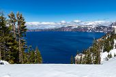 Crater Lake National Park Is An American National Park Located In Southern Oregon, Fifth Oldest Nati poster