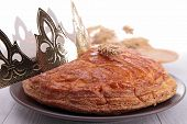 stock photo of epiphany  - epiphany cake - JPG