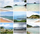 Collage Of View Point  - Kata, Karon, Patong Beaches Thailand