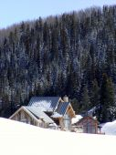 image of colorado high country  - Beautiful view in the high country snow - JPG