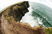 stock photo of cliffs moher  - The Cliffs of Moher  - JPG