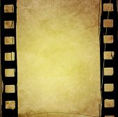 Great film strip for textures and backgrounds with space
