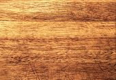stock photo of dingy  - Background of an old natural wooden darken room with messy and grungy cracked tree floor of beech texture - JPG