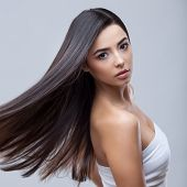 foto of brunette hair  - Hair - JPG