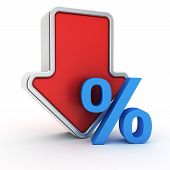Fall Of Percent Rate