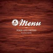 foto of wood design  - Restaurant menu design - JPG